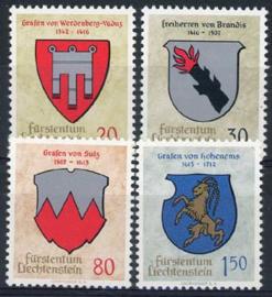 Liechtenstein, michel 440/43, xx