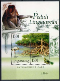 Indonesie, michel blok 208, xx