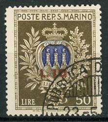 S.Marino, michel 351, o