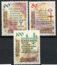 Liechtenstein, michel 1073/75, xx