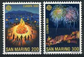 S.Marino, michel 1225/26, xx