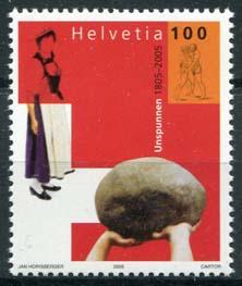 Zwitserland, michel 1917, xx