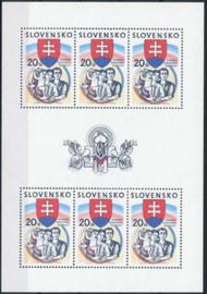 Slowakije, michel kb 444, xx