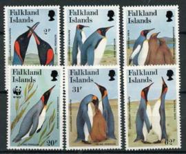 Falkland, michel 538/43, xx