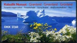 Groenland, michel MH 1, xx