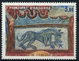 Andorra Fr., michel 326, xx