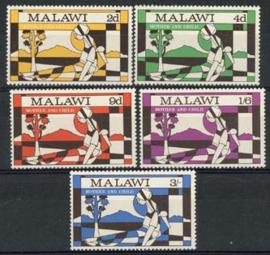 Malawi, michel 138/42, xx