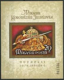 Hongarije, michel blok 135 A, xx