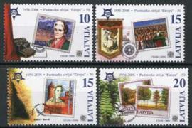 Letland, michel 652/55, xx