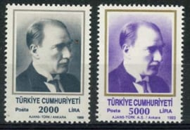 Turkije, michel 2862/63, xx