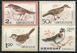 Uruguay, michel 955/58, xx
