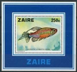 Zaire, michel blok 17, xx