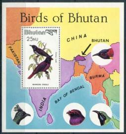 Bhutan, michel blok 86, xx