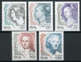 Italie, michel 2614/18, xx