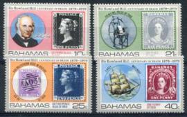 Bahamas, michel 440/43, xx