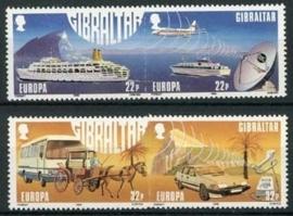 Gibraltar, michel 544/47, xx