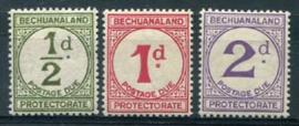 Bechuanaland, michel P 4/6, xx