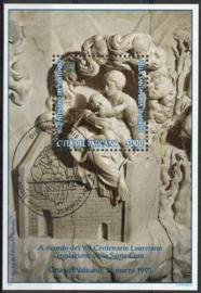 Vatikaan, michel blok 15, o