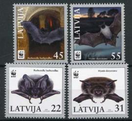 Letland, michel 727/30, xx