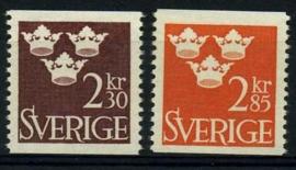 Zweden, michel 538/39,xx