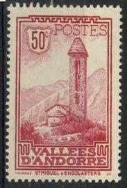 Andorra Fr., michel 35, x