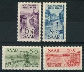 Saar , michel 255/58 , xx