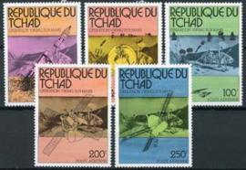Tchad, michel 747/51, xx