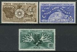 Turkije, michel 1388/90, xx