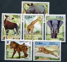 Cuba, michel 2347/52, xx
