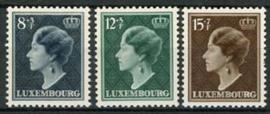 Luxemburg, michel 439/41, xx