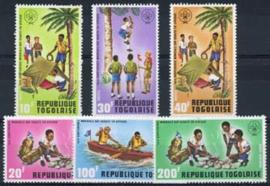 Togo, michel 976/81, xx