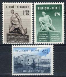 Belgie, obp 860/62, xx