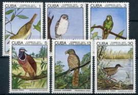 Cuba, michel 2057/62, xx