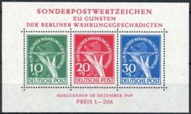 Berlijn, michel blok 1 , xx, cert.