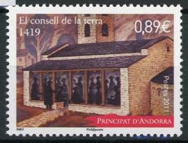 Andorra Fr., michel 736 , xx