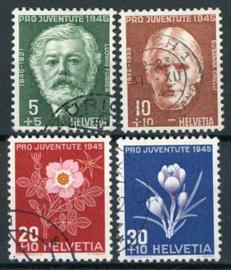 Zwitserland, michel 465/68, o