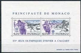 Monaco , michel blok 38 , xx