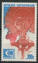 Centrafricain, michel 385, xx