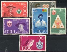 Togo, michel 313/18, xx