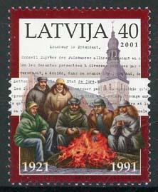 Letland, michel 538, xx