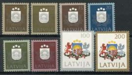 Letland, michel 305/12, xx
