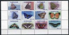 Suriname Rep., vlinders 2016, xx