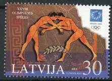 Letland, michel 619, xx