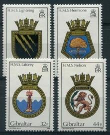 Gibraltar, michel 513/16, xx
