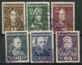 Oostenrijk, michel 617/22, o