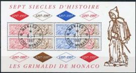 Monaco, michel blok 72, o