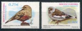 Andorra Sp., michel 287/88, xx