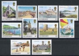 Guernsey, michel 325/34, xx