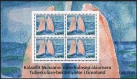 Groenland, michel blok 41 , xx