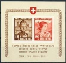 Zwitserland, michel blok 6 , xx